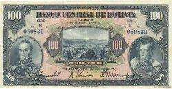 100 Bolivianos BOLIVIE  1928 P.125a pr.TTB