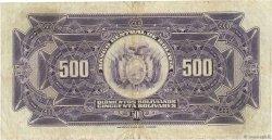 500 Bolivianos BOLIVIE  1928 P.126b TB