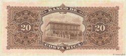 20 Colones COSTA RICA  1906 PS.179r SUP