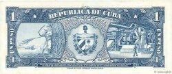 1 Peso CUBA  1956 P.087a SPL