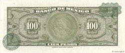 100 Pesos MEXIQUE  1963 P.061b NEUF