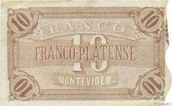 10 Pesos URUGUAY  1871 PS.171a TTB