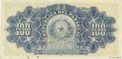 100 Pesos PARAGUAY  1907 P.159 SUP