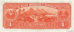 1 Peso GUATEMALA  1923 PS.116a SUP