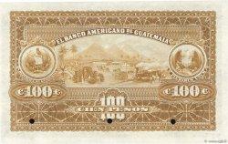100 Pesos GUATEMALA  1913 PS.114s SPL