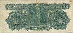 1 Quetzal GUATEMALA  1945 P.014b TTB+