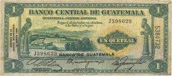 1 Quetzal GUATEMALA  1946 P.020 TB
