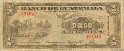 1/2 Quetzal GUATEMALA  1948 P.023 B