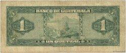 1 Quetzal GUATEMALA  1948 P.024a B