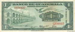 1 Quetzal GUATEMALA  1948 P.024a TTB