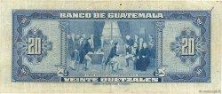 20 Quetzales GUATEMALA  1949 P.027 TTB