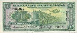 1 Quetzal GUATEMALA  1955 P.030 NEUF