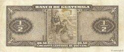 1/2 Quetzal GUATEMALA  1958 P.035 TTB