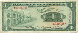 1 Quetzal GUATEMALA  1958 P.036b TTB