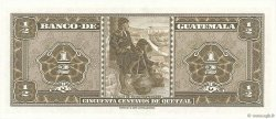 1/2 Quetzal GUATEMALA  1961 P.041c NEUF