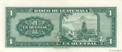 1 Quetzal GUATEMALA  1962 P.043d pr.NEUF
