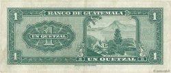 1 Quetzal GUATEMALA  1964 P.043f TTB