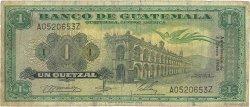1 Quetzal GUATEMALA  1968 P.052e B