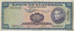 20 Quetzales GUATEMALA  1968 P.055d pr.TTB