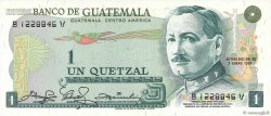 1 Quetzal GUATEMALA  1981 P.059c NEUF