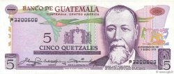 5 Quetzales GUATEMALA  1979 P.060c NEUF
