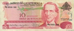 10 Quetzales GUATEMALA  1971 P.061a pr.TTB