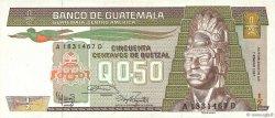 1/2 Quetzal GUATEMALA  1987 P.065 SUP