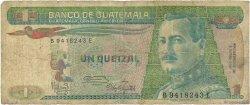 1 Quetzal GUATEMALA  1986 P.066 B