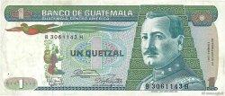 1 Quetzal GUATEMALA  1987 P.066 TTB