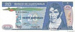 20 Quetzales GUATEMALA  1986 P.069 NEUF