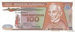 100 Quetzales GUATEMALA  1987 P.071 pr.NEUF