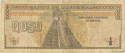 1/2 Quetzal GUATEMALA  1989 P.072a B