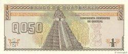 1/2 Quetzal GUATEMALA  1989 P.072a NEUF