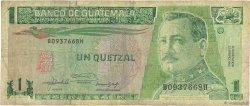 1 Quetzal GUATEMALA  1992 P.073c B