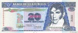 20 Quetzales GUATEMALA  1992 P.076c NEUF