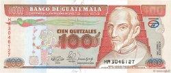 100 Quetzales GUATEMALA  1990 P.078b NEUF