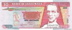 10 Quetzales GUATEMALA  1992 P.082 NEUF