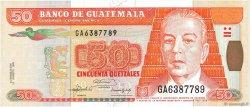 50 Quetzales GUATEMALA  1992 P.084 NEUF