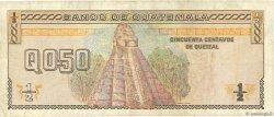 1/2 Quetzal GUATEMALA  1993 P.086a TB