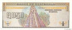 1/2 Quetzal GUATEMALA  1993 P.086a NEUF