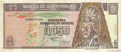 1/2 Quetzal GUATEMALA  1994 P.086b TB+