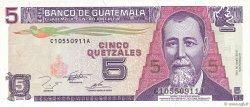 5 Quetzales GUATEMALA  1995 P.088b pr.NEUF