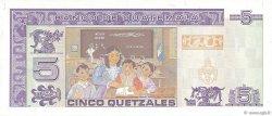 5 Quetzales GUATEMALA  1995 P.088c NEUF