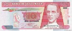10 Quetzales GUATEMALA  1995 P.089 NEUF