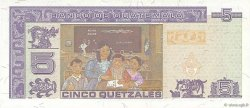 5 Quetzales GUATEMALA  1994 P.092 SUP