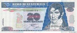 20 Quetzales GUATEMALA  1995 P.093 NEUF