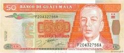 50 Quetzales GUATEMALA  1995 P.094 SUP+
