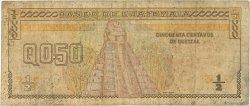 1/2 Quetzal GUATEMALA  1996 P.096a B