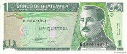 1 Quetzal GUATEMALA  1996 P.097a TTB