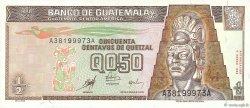 1/2 Quetzal GUATEMALA  1998 P.098 SPL